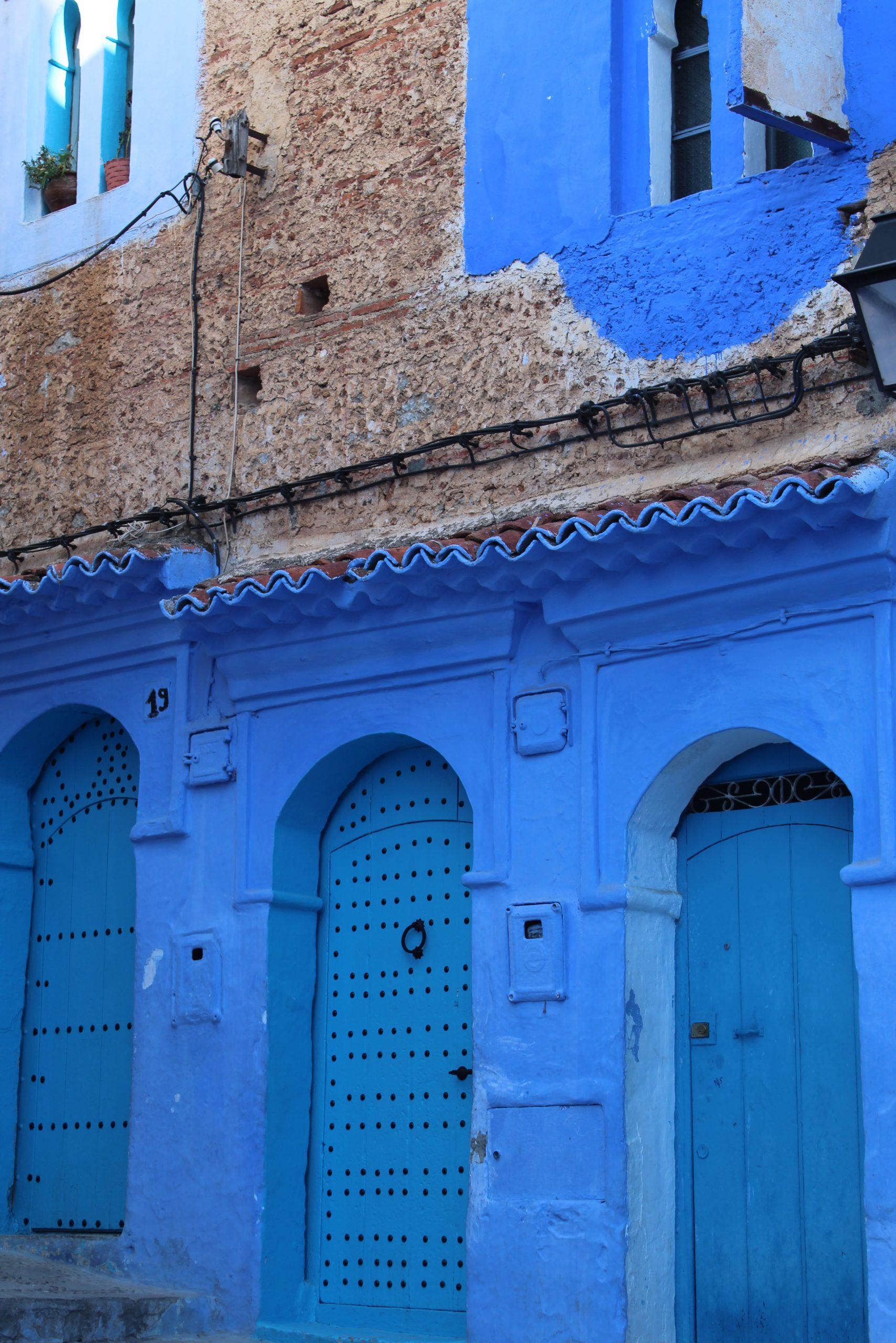 Doors of Chefchaouen