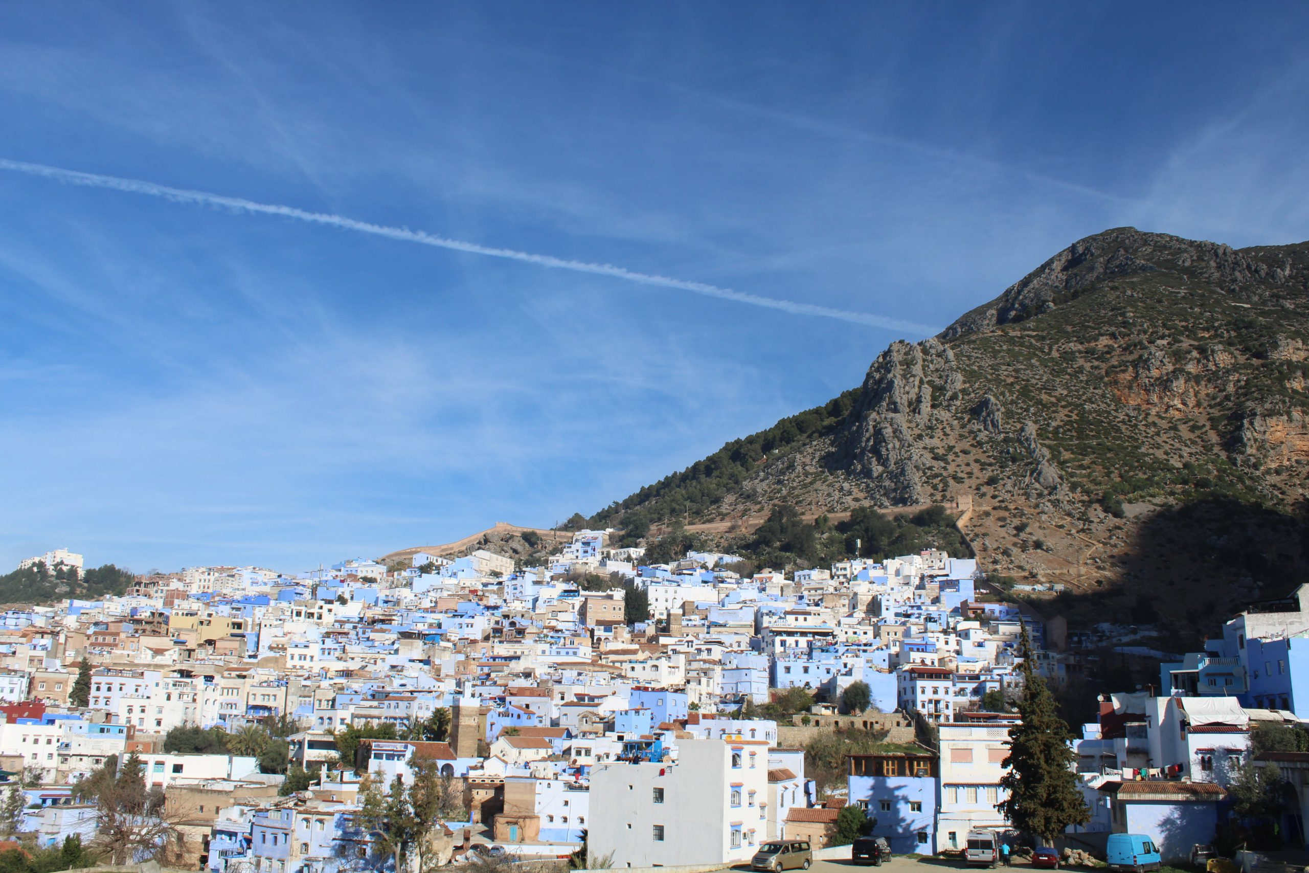 view on Chefchaouen
