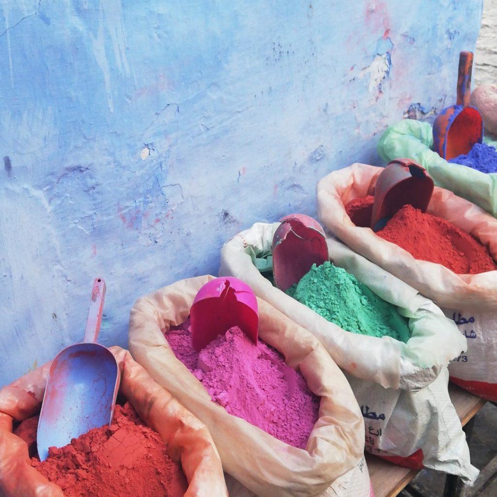 Paint Chefchaouen
